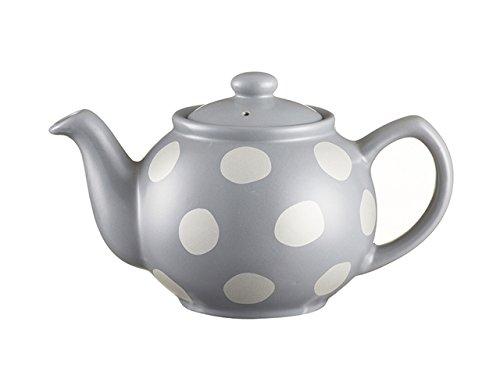 Price & Kensington Plata Spot cerámica Gris 2Taza Tetera
