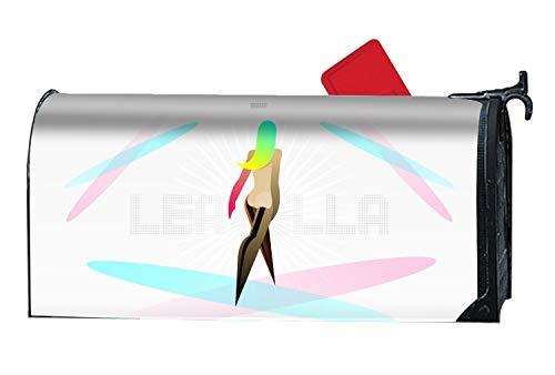 Womens Küste Abdeckung (Hotspot Stilvoller Briefkasten-Umschlag für Damen, Frühjahr, Sommer, Herbst/Winter OneSize Artistic Women Digital7)