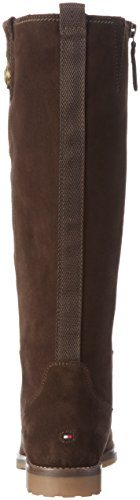 Tommy Hilfiger W1285endy 12b, Bottes hautes avec doublure froide femme Marron - Braun (COFFEEBEAN 212)