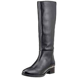 Geox Damen D Felicity D Hohe Stiefel Schwarz (Black C9999), 38 EU