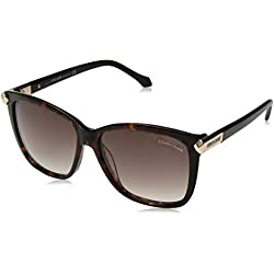 Roberto Cavalli Women's Sunglasses Rc902s 50g 57 (Brown), 57.0