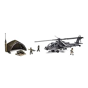 Mattel Mega Bloks DPB60 Call of Duty – Anti-Armor Helicopter, BAU und Konstruktionsspielzeug