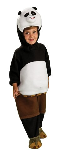 kostüm - 128 cm (Kung Fu Panda Kostüm)