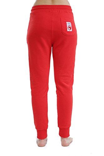 Compagnie de Californie -  Pantaloni sportivi  - Donna Rosso