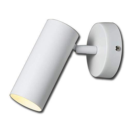 Nachttischlampe wandleuchte schlafzimmer einfache moderne treppe raum hintergrund wand shop schwarz und weiß single head scheinwerfer scheinwerfer deckenstrahler deckenstrahler innenlicht warmes licht -