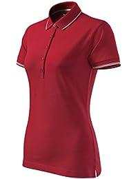 404be1608bc0c1 Modisches Damen Poloshirt Plain tailliert - Super Premium Stoff & Shirt  Schnitt | 95% Baumwolle