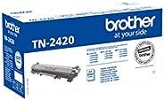 Brother TN2420 Tóner negro original de larga duración para las impresoras: HLL2310D, HLL2350DW, HLL2370DN, HLL