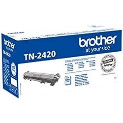 Brother TN2420 Toner Originale per Stampanti Laser Serie L2000, Autonomia di 3000 Pagine