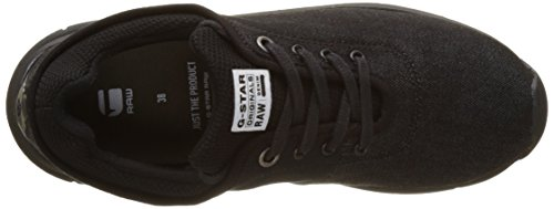G-STAR RAW Grount, Sneakers Basses Femme Noir (Black 990)