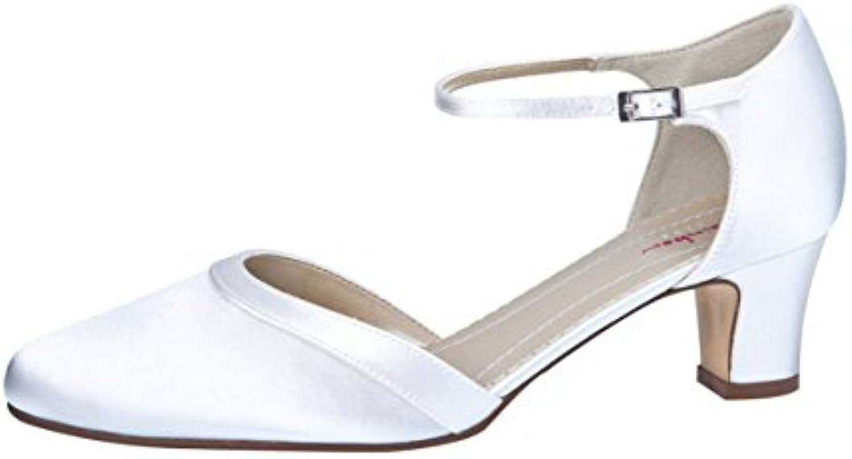 Elsa Colourosso scarpe 301022, Scarpe col Tacco Donna Avorio Avorio | Outlet Store  | Maschio/Ragazze Scarpa