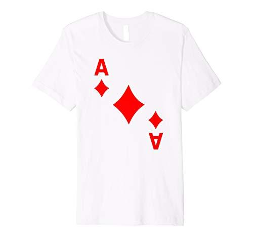 Kartenspiel Karte Karo As tshirt Karten Shirts