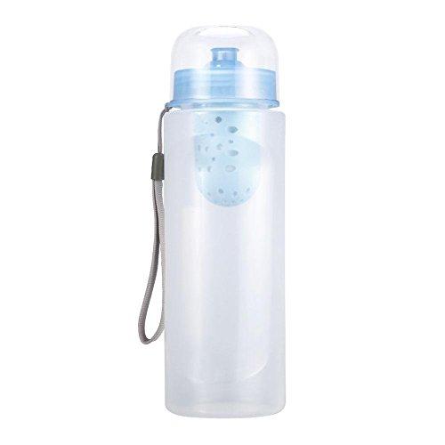 Topincn filtro acqua purificazione portatile portatile di sopravvivenza quotidiana purificatore purificatore con cinturino da polso frigorifero compatibile con maytag(bianco)