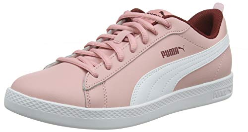 Puma Damen Smash WNS v2 L Sneaker, Bridal Rose-Fired Brick White, 40 EU