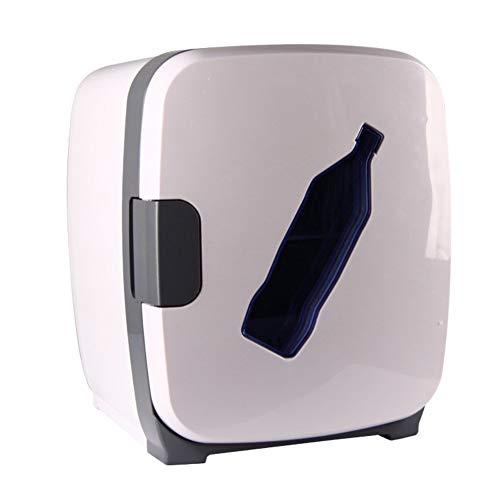 ZHENYUE Tragbare ini Frige Gefrierschrank Kühlbox Ein Warer Quiet Copact Auto ini Kühlschrank Energy Efficient oder Roo Büro-Wite 13L ZHENYUE (Color : White, Size : 13L)