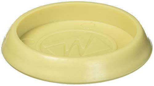 Möbel Caster Tassen Hartböden oder Teppichböden Oberflächen (4Stück)-1-3/10,2cm rund, beige - Hartholz-appliance