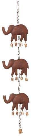 Movil Colgante Elefantes Metalico