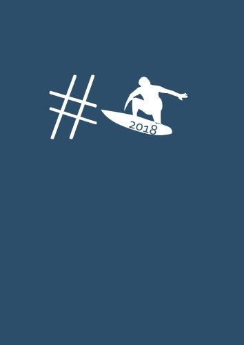 dicker TageBuch Kalender 2018 #surfen: Endlich genug Platz für dein Leben! 365 Tage = 365 A4-Seiten