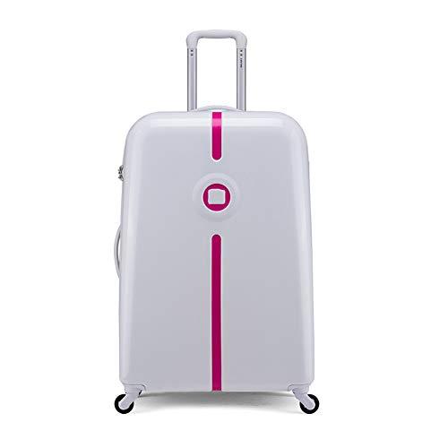 Qzny Koffer, Trolley New Travel Bag 20 24 30 Zoll Gepäck Reisetasche Lock Box Universal Rad Für Männer Frauen Trolley Große Kapazität Kabinenkoffer (Farbe : B, Größe : 55 * 35 * 25cm)