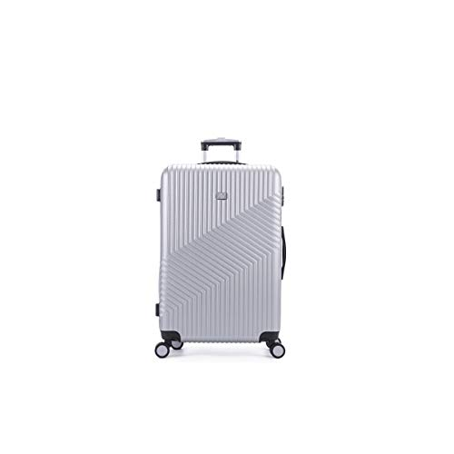 air-v BAGAGES, Valigia Argento argento Large