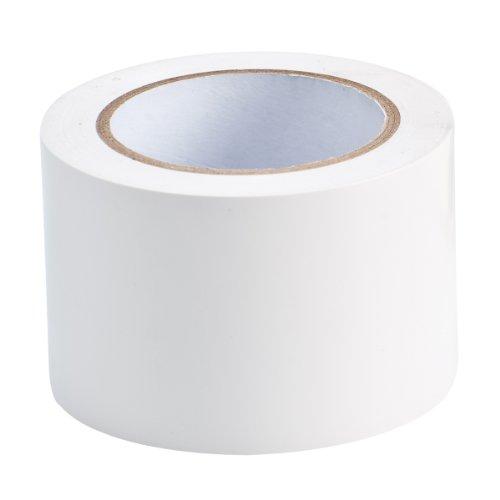 """Brady 108de longitud, 3""""Ancho, B-725cinta de vinilo, color blanco color cinta adhesiva de pasillo"""