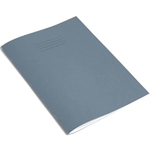 RHINO A4 32 Page Ruled Project Book - Blue (Pack