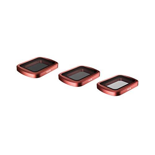 Skyreat Kamera Objektiv ND Filter Satz 3er-Pack (ND4, ND8, ND16) Kompatibel mit DJI Osmo Pocket Gimbal Kamera-Zubehör