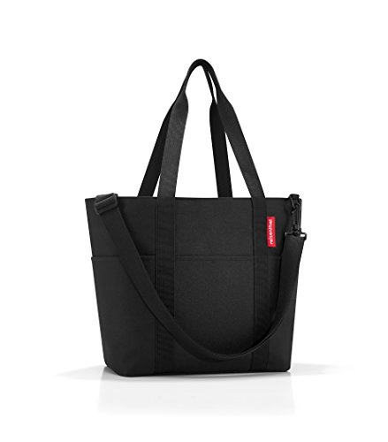 Reisenthel Multibag Borsa Shopper Tote Bag Nuovo Pois - Grande Qualità Nero