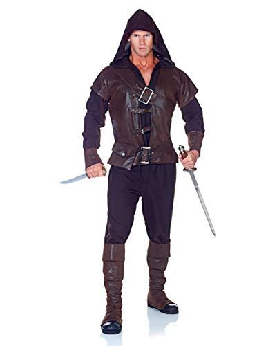 killer Kostüm Assassin für LARP & Karneval ()