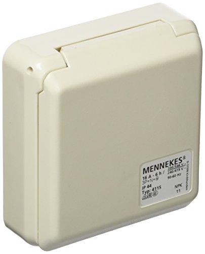 Mennekes (Unternehmen) 101100352Basen in System cepex-th, Steckdosen CEE, 400V, 50–60Hz, 16A, 5-polig, IP 44, 5Paket