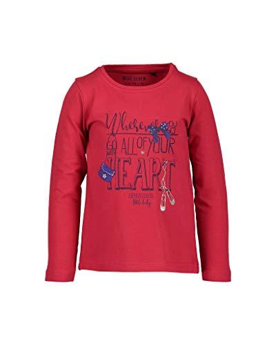 BLUE SEVEN Blue Seven Mädchen T-Shirt Vd-750578 X, Rot (Hochrot 330), 92