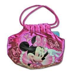 Minnie Bowtique 7 Satin Handtasche mit Seil Griff