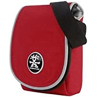 Crumpler Muffin Top 80 Case for Camera Red/ Silver