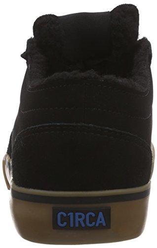 C1RCA Hesh, Baskets Basses mixte adulte Noir - Schwarz (Black / Seaport / Sherpa)