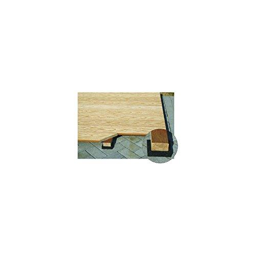 K&R Terracon Isopat für Terrassenlager (gross) Gummigranulatunterlage 8x152x152mm, 10 Stück