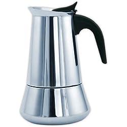 Cafetera italiana inox ORBEGOZO KFI1260 | ORBEGOZO 12 tazas Induccion Vitro Gas Electrico