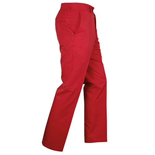 Stromberg 2018 Sintra 2 Technical Wicking Mens Golf Trousers - Straight Fit Red 32x31 Stromberg Golf