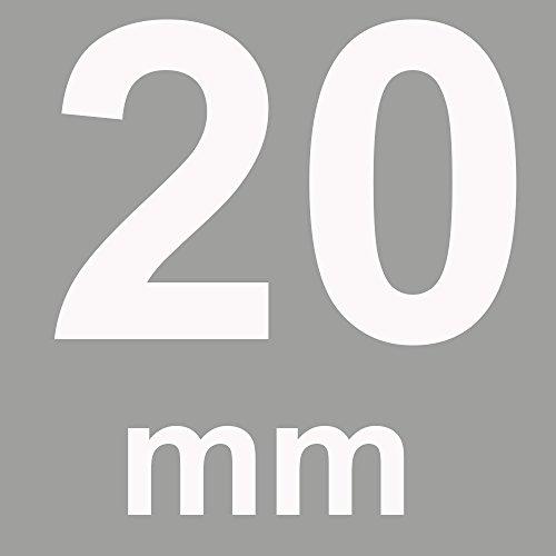 Zoom IMG-1 trumirr fibbia 20mm in acciaio