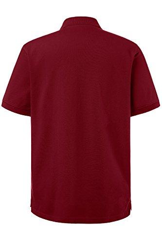 JP 1880 Herren Poloshirt Piquee Rot (Rot 57)