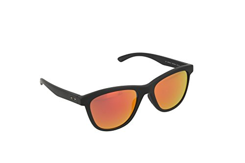Oakley OO9320-10 Moonlighter, Gafas de sol polarizadas, (53 mm), Negro