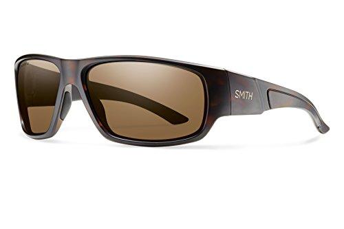 Smith Optics Discord Lifestyle Polarized Sunglasses, Matte Tortoise/Chromapop Brown