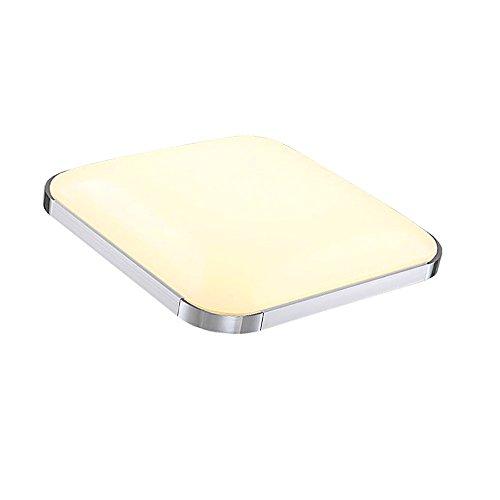 12W LED Deckenleuchte warmweiß 960lm lampe schlafzimmer Deckenlampe Alu-matt 120° Abstrahlwinkel