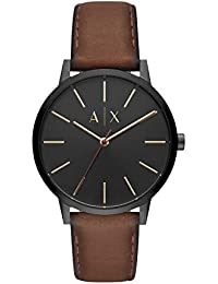 Armani Exchange Cayde Analog Black Dial Men's Watch - AX2706