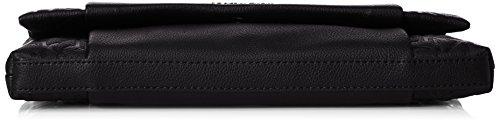 Calvin Klein - MISH4 CLUTCH, Pochette Donna Nero (Nero (Black 001))