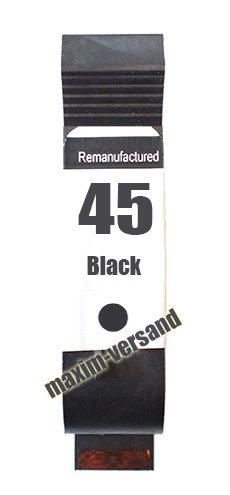 1x MAXIMPRINT XL Drucker-Patrone ersetzt HP 45 - Schwarz/Black - 51645AE (Ed-drucker)