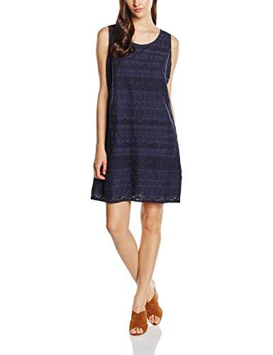 s.Oliver Damen Kleid 14.605.82.5348, Blau (Navy 5959), 36