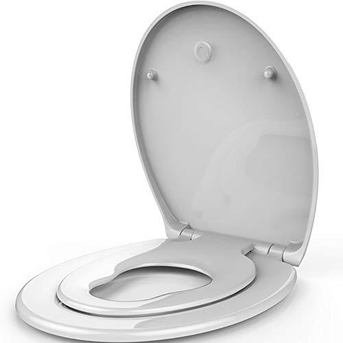 ARAYACY WC-Abdeckung, Kinder-WC-Abdeckung, WC-Sitz, Verdickung, Stummschaltung, Erwachsenenschutz, Erwachsene, Toilette Mit Doppeltem Gebrauch