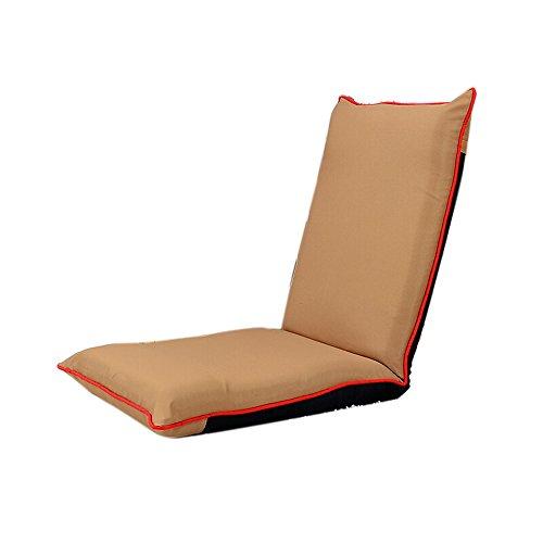 , Falten Lazy Sofa, Single Keine Beine Bett Rückenlehne Stuhl, Bay Window Freizeit Lounge Stuhl, Computer Tuch Stuhl (Farbe : 2#) ()