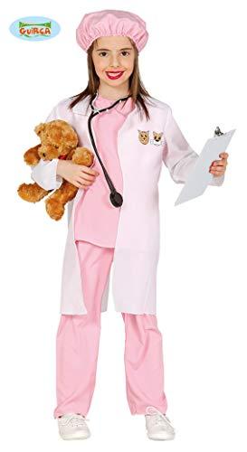 Guirca Rosa Tierärztin Kostüm für Mädchen Gr. 98-134, Größe:128/134