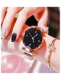 Mr. Brand Magnetic Strap Styish Luxury Analog Watch for Women and Girls