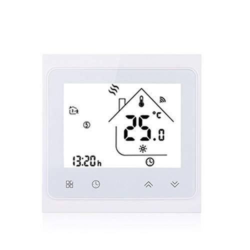 mingxiao WiFi-Thermostat LCD Thermostat-Temperaturregler Elektrisch 16A Heizung Alexa Google-Startseite WiFi-Temperaturregler Digital Zubehör -